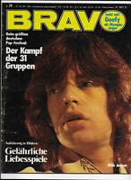 BRAVO Nr.29 vom 12.7.1972 Daniel Boone, William Shatner, Mick Jagger, Ron Ely