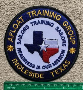 Navy Afloat Training Group Ingleside Texas Sailors Training Patch