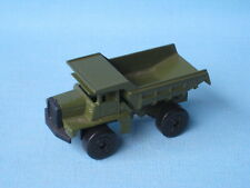 Lesney Matchbox Mack Tipper Truck Olive Green Army Military Toy Construction UB