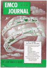 Htf Emco Journal Oct 12,1953 for Mark's Stamp Co. Toronto Canada.