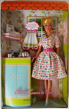 Barbie Doll Learns To Cook (Gold Label) (New)