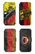 Samsung Galaxy Flip Etui Tasche Handyhülle Case Cover Deutschland Adler Fahne s1