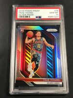 TRAE YOUNG 2018 PANINI PRIZM #78 SILVER REFRACTOR ROOKIE RC PSA 10 GEM HAWKS NBA