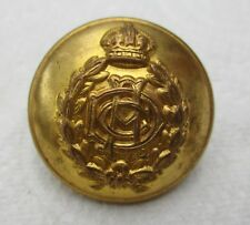 """WW2 British:""""ARMY DENTAL CORPS BRASS BUTTON"""" (Officer's, Large Size, 25mm)"""