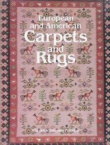 European American Antique Carpets Rugs - Types Makers / In-Depth Illustratd Book