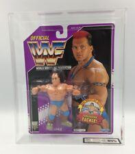 Vintage WWF Hasbro Tatanka serie 9, 1993 cardada UKG no AFA 85%