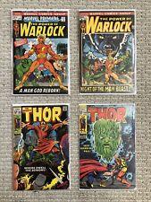 Marvel Premiere 1 Power Thor 163 164 Lot 1st Him Warlock, 1st Series, Cameos CGC