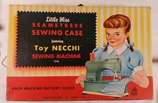 VNTG Hasbro Sewing Set Toy Necchi Sewing Machine Original Box (W31)