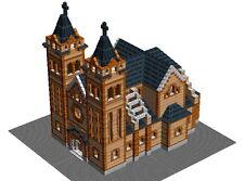 5746 pcs Lego Catholic Church of Nyiregyhaza building instruction - MOC