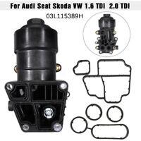 Filtre à Huile pour Audi Seat Skoda VW 1.6 TDI 2.0 TDI 03L115389H 03L115389C