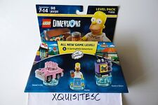 NEW LEGO Dimensions 71202 THE SIMPSONS Level Pack - Homer, Car, Taunt-o-Vision