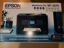 Brand New Epson WorkForce Pro Wf-3820 Wireless All-in-one Printer