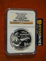 2014 $2 NIUE PROOF SILVER DONALD DUCK NGC PF70 ULTRA CAMEO DISNEY CHARACTERS