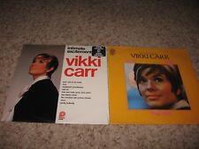 Vikki Carr - Lot of 2 ~ Sealed LP's ~ Intimate Excitement & Unforgettable