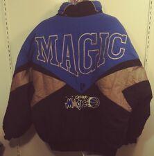 Pro Player Orlando Magic Full Zip Jacket Coat Mens XL VTG 90s Spell Out Read