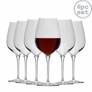 Extra Large Wine Glasses Bormioli Rocco Inalto Tre Sensi Red White 650ml x6