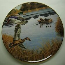 Mallards In October By Km Michaelson Collector Plate