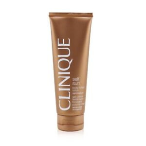 Clinique Self-Sun Body Tinted Lotion - Light/ Medium 125ml Womens Skin Care