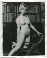 Brenda Collins by Roy Kemp Original 1960 Beatnik Art Nude Photograph 1131