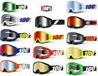100% STRATA Goggles MTB Mountain Bike DH Enduro XC MX Motocross Goggle Percent %
