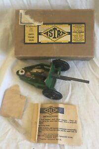 1940s ASTRA diecast Anti Tank gun boxed