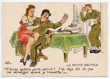 M. Barré & Dayez . JEAN PARIS . Charme militaire. Erotique. Erotic . DACTYLO