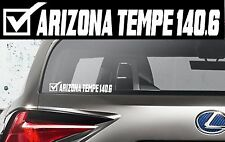 2019 Or Any year Ironman Arizona Triathlon Finisher Decal