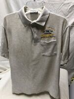 🔥 Glock Polo Shirt Size L Gray Range Officer GSSF 1999