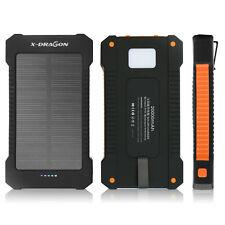 300000mAh Solar Power Bank Charger USB Tragbare Externer Batterie Ladegrät Handy