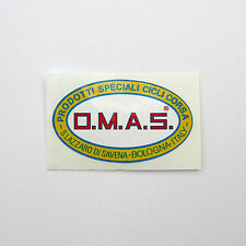Vintage 'O.M.A.S.' Elite Italian Component Manufacturer Frame Decal Reproduction