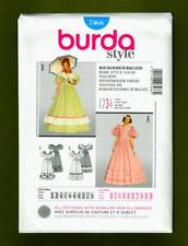 Civil War Era Dress Costume Sewing Pattern (Plus Sizes 10-28) Burda 7466
