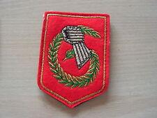 INSIGNE  tissus militaire  avec attaches