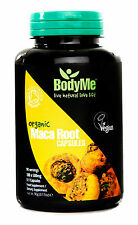 BodyMe Organic Maca Root 500mg 5:1 Capsules x 180 (Soil Association Certified)