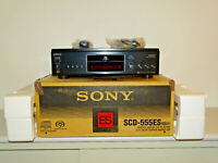 Sony SCD-555ES High-End SACD-Player Schwarz, OVP&NEU, 2 Jahre Garantie