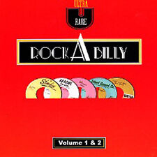 Ultra Rare Rockabilly Volumes 1&2 (2CD) NEW Sealed original 1950s Rock 'n' Roll