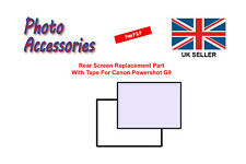 Rear Screen Replacement Part with Tape For Canon Powershot G9
