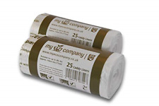 My Eco Company 30L X 50 Compostable Kitchen Food Waste Bin Bags Kerbside Caddy