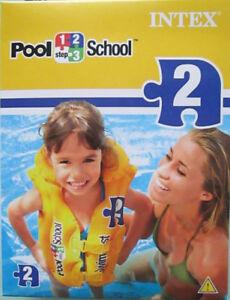 Schwimmweste gelb für Kinder von Intex neu OVP