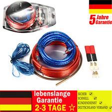 AWG 8 Verstärker 10mm² Endstufen-Subwoofer-Set Kabel Kit PKW Car-Hifi Chinch TOP