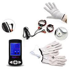 Electric Electro Shock Penis Ring Conductive Massage Gloves E-stim Set Couples