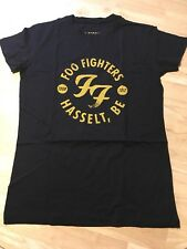 OFFICIAL Foo Fighters T-shirt Disco Outline Black Dave Grohl S L XL