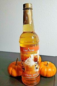 🎃Jordan's Skinny Syrups | Sugar Free Pumpkin Spice Coffee Syrup  25.4 FL OZ🎃