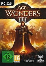 Age of Wonders III PC CD/DVD-box nuevo & OVP