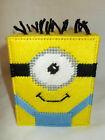 Despicable Me Minion #1 Tissue Topper/Box/Cover Plastic Canvas