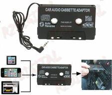 ADATTATORE A CASSETTA PER AUTORADIO AUTO MP4 IPHONE CD STEREO CONVERTITORE AUX