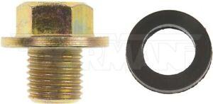 Dorman 090-038.1 Oil Drain Plug Standard M12-1.25, Head Size 14Mm