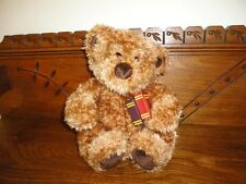 Gund 1999 Reading Bear with Glasses & Books 4401