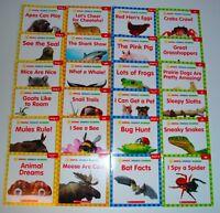 LOT 24 Animal PHONICS Reader Books Level C D E F Kindergarten Grade 1 Homeschool