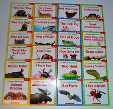 LOT 24 Animal PHONICS Reader Books Level C D E F Kindergarten Grade 1 Homeschool