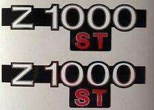 Kawasaki Z1000ST Welle Seitenwand Aufkleber